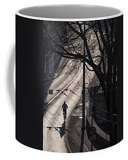 Shadow And Light Coffee Mug by Muhie Kanawati