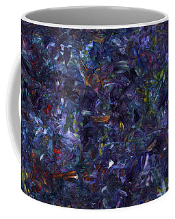 Coffee Mug featuring the painting Shadow Blue by James W Johnson