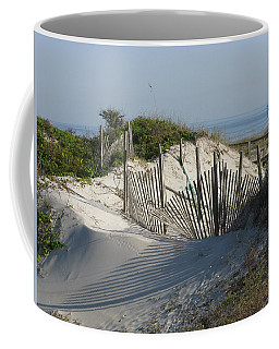 Shadow Fence Coffee Mug