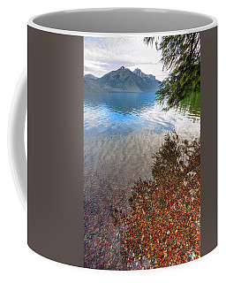 Coffee Mug featuring the photograph Shadow Pebbles by David Andersen