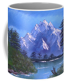 Shadowed Mountain Lake Coffee Mug