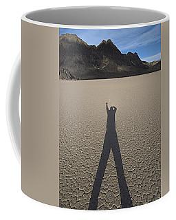 Coffee Mug featuring the photograph Shadowman by Joe Schofield