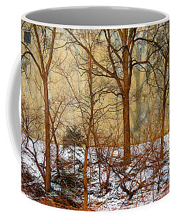 Coffee Mug featuring the photograph Shadows In The Urban Jungle by Nina Silver