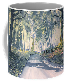 Shadows On The Setterington Road Coffee Mug