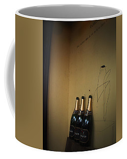 Coffee Mug featuring the photograph Shadows by Rachel Mirror