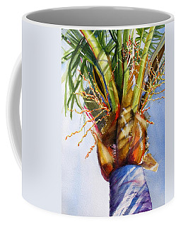 Shady Palm Tree Coffee Mug