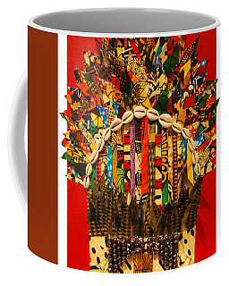 Shaka Zulu Coffee Mug by Apanaki Temitayo M