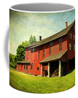 Shaker Village Barn Coffee Mug by Trina  Ansel