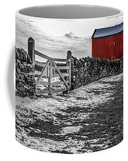 Shakertown Red Barn - Sc Coffee Mug
