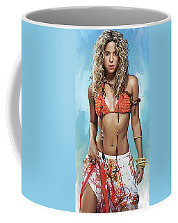 Shakira Coffee Mugs