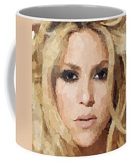 Shakira Portrait Coffee Mug