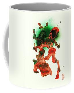 Coffee Mug featuring the painting Shako Dansu by Roberto Prusso