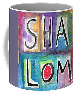 Shalom - Square Coffee Mug