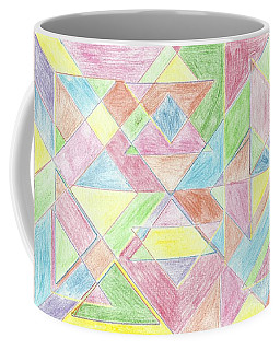 Shapes Of Colour Coffee Mug