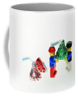 Sharing A Hug Coffee Mug