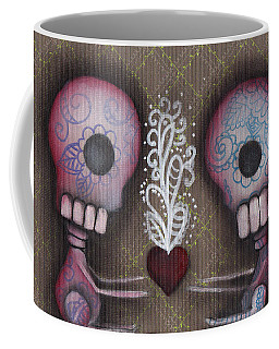 Sharing The Love Coffee Mug by Abril Andrade Griffith