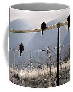 Sharing The Morning News Coffee Mug