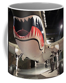 Shark Aircraft Coffee Mug by Aaron Martens