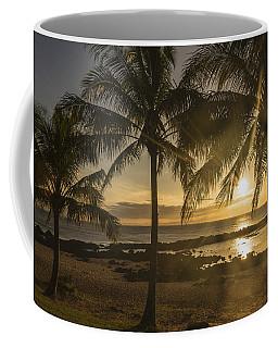 Sharks Cove Sunset 2 - Oahu Hawaii Coffee Mug