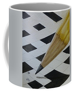 Sharpen Your Pencil For This Puzzle Coffee Mug