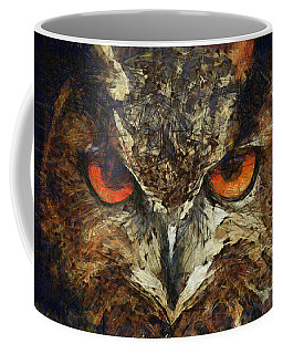 Sharpie Owl Coffee Mug