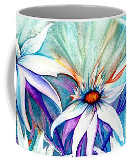 Shasta Daisy Dance Coffee Mug by Janine Riley