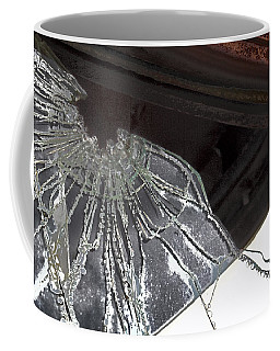 Coffee Mug featuring the photograph Shattered by Lynn Sprowl