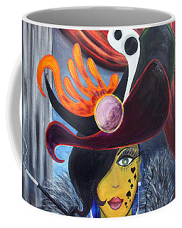She Devil..   Coffee Mug by Jolanta Anna Karolska
