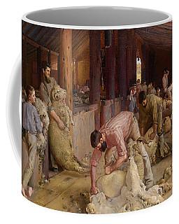Shearing The Rams  Coffee Mug