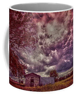 Shed Against The Storm Coffee Mug