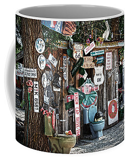 Shed Toilet Bowls And Plaques In Seligman Coffee Mug