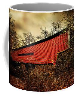 Sheeder Hall Covered Bridge 2 Coffee Mug