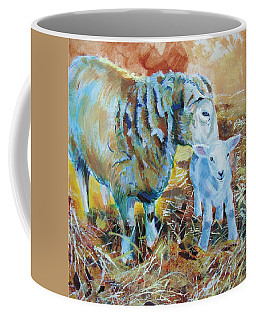 Sheep And Lamb Coffee Mug