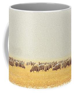 Sheep In Snow Coffee Mug