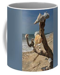 Shell Art Coffee Mug