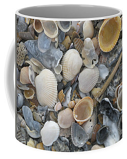 Shell Mosaic Coffee Mug
