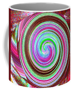 Coffee Mug featuring the digital art Shell Shocked by Catherine Lott