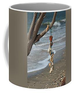 Shells On A String Coffee Mug