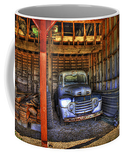 Shelter Me 1948 Ford Pickup Truck  Coffee Mug