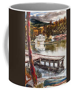 Shepherd Mountain Lake In Twilight Coffee Mug