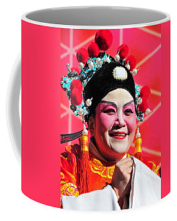 Coffee Mug featuring the photograph She's All Smiles by Mike Martin