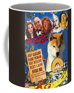 Shiba Inu Art Canvas Print - The Wizard Of Oz Movie Poster Coffee Mug