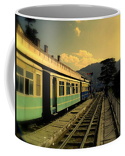 Shimla Railway Station Coffee Mug by Salman Ravish