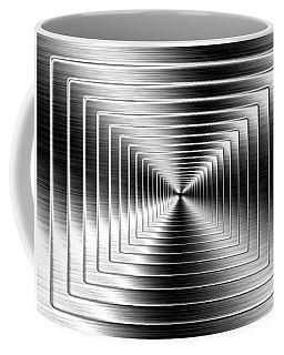 Shimmering Steel Coffee Mug
