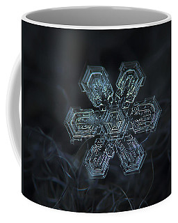 Snowflake Photo - Shine Coffee Mug