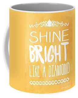 Shine Bright Orange Coffee Mug