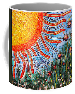 Shine On Me.. Coffee Mug by Jolanta Anna Karolska