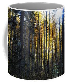 Coffee Mug featuring the photograph Shining Through by Belinda Greb