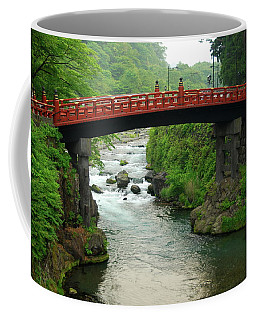 Shinkyo In Nikko Coffee Mug by Jonah  Anderson