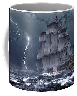 Ship In A Storm Coffee Mug